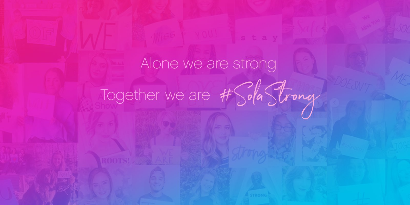 #SolaStrong